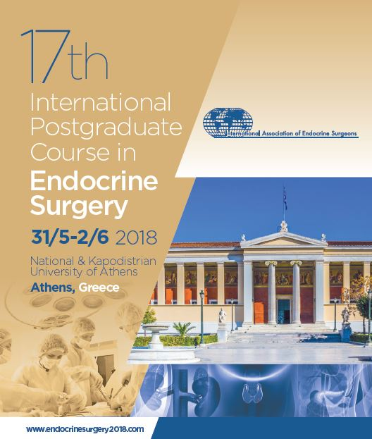 17 international postgraduate course in endocrine surgery banner